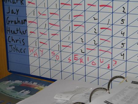joker was here schedule