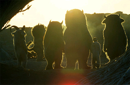 Where the Wild Things Are Silhouette