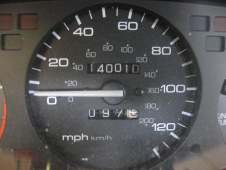 140,000 miles on odometer