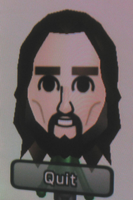 Mark Mushakian Bearded Mii