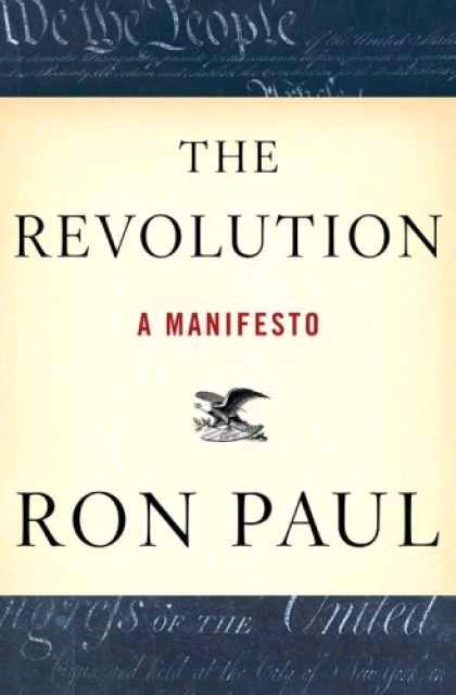 The Revolution a Manifesto Ron Paul book