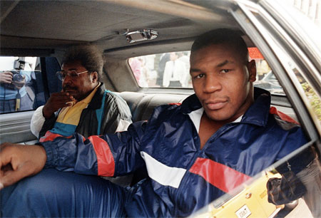 Mike Tyson young with Don King