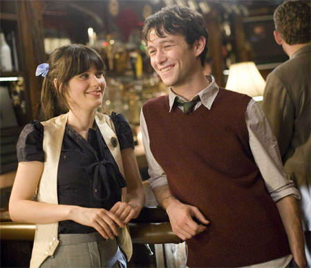 500 days of summer zooey and joseph in bar