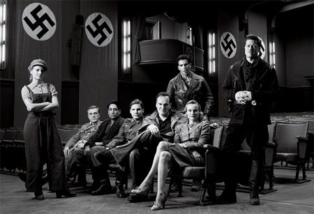 Inglourious Basterds cast shot