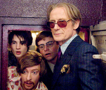 Pirate Radio Bill Nighy and boys