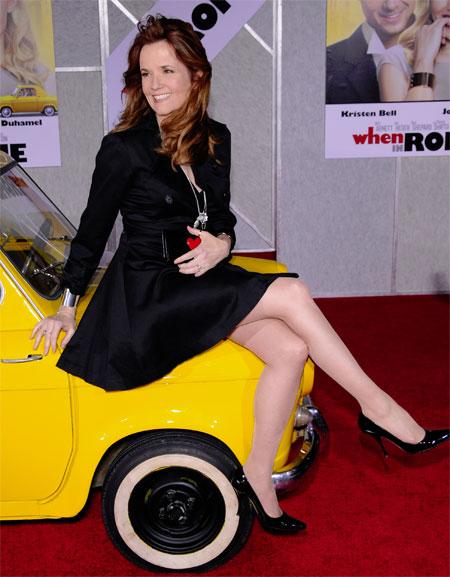 Lea Thompson When In Rome premiere