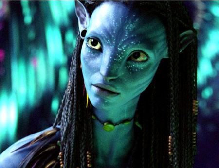 Avatar lady na'vi