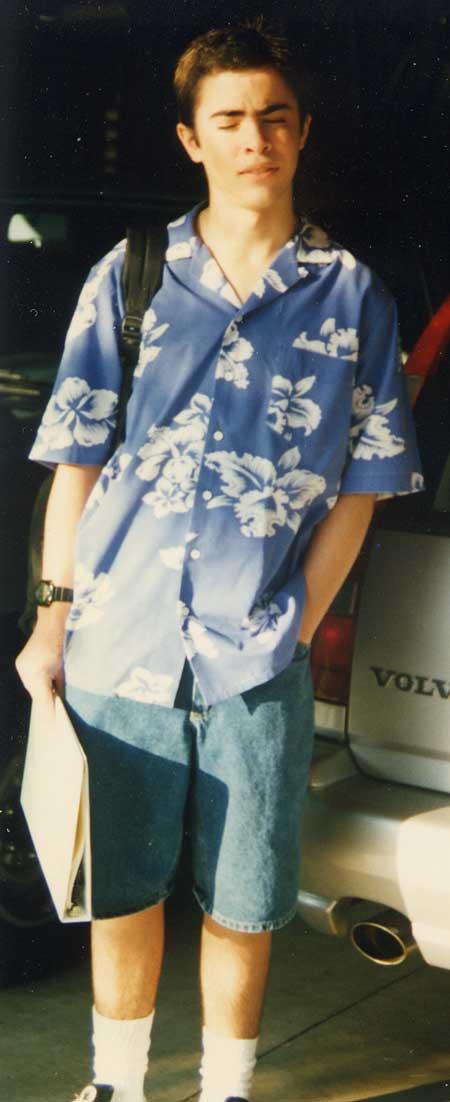mark sophomore year hawaiian shirt
