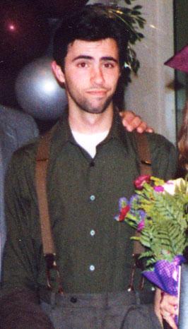 Mark in suspenders