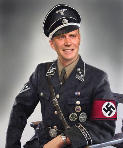 adorable Nazi ss soldier uniform