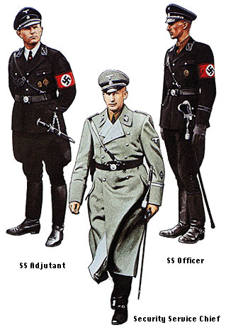 Nazi uniform designs