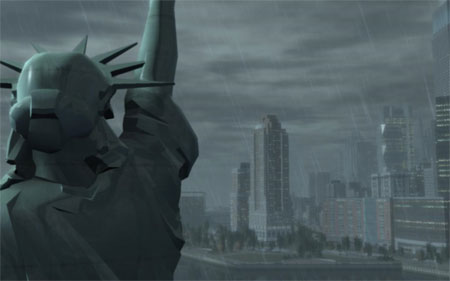 GTA IV Liberty City Statue of Happyness