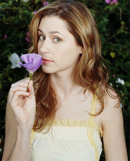 Jenna Fischer flower