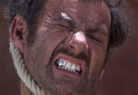 eli wallach tuco hanging the good the bad the ugly