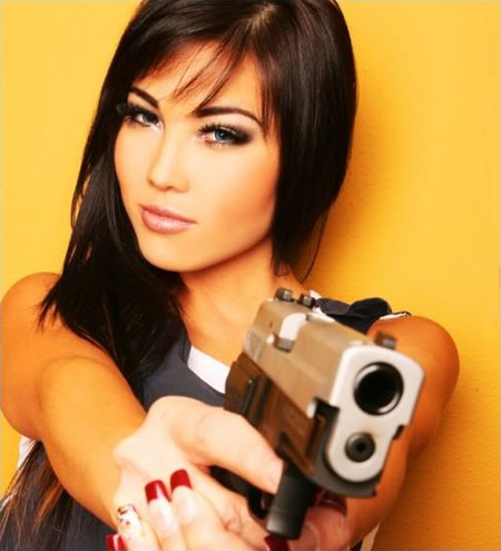 compromise asian girl with a gun lisa fleming
