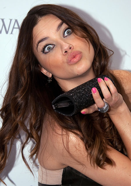 Adriana Lima crazy and insane