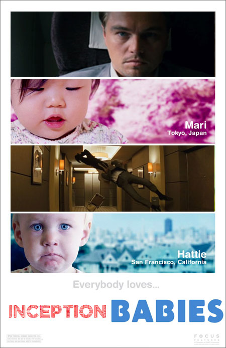 Inception Babies poster