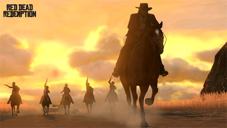 Red Dead Redemption Marston riding
