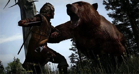 Red Dead Redemption bear attack