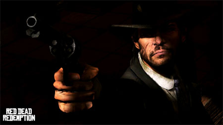 Red Dead Redemption Marston dark shooting