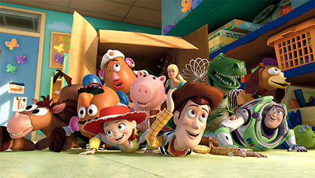 Toy Story 3 remaining toys