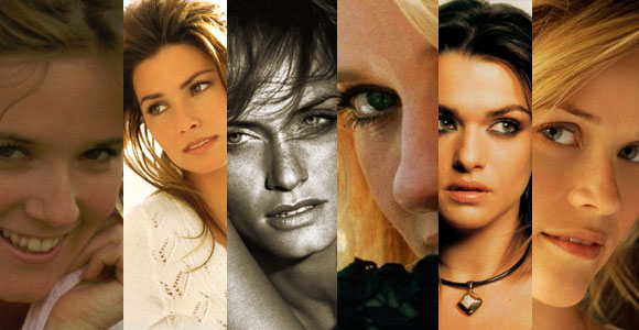 attractive older women banner - Lea Thompson, Shania Twain, Amber Valleta, Naomi Watts, Rachel Weisz, Reese Witherspoon