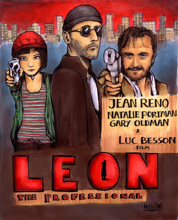 Leon The Professional Poster by Mangaddicted