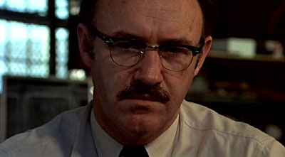 Gene Hackman with glasses in The Conversation