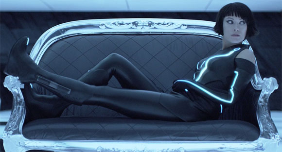 Olivia Wilde hot in tron legacy