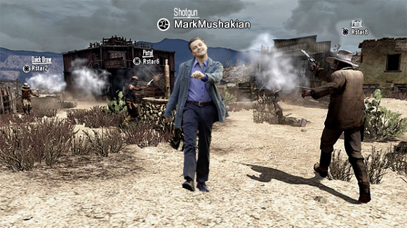 Red Dead Redemption Leo strut through multiplayer