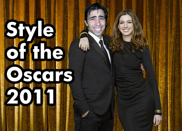 Mark Mushakian and Anne Hathaway style of the oscars 2011