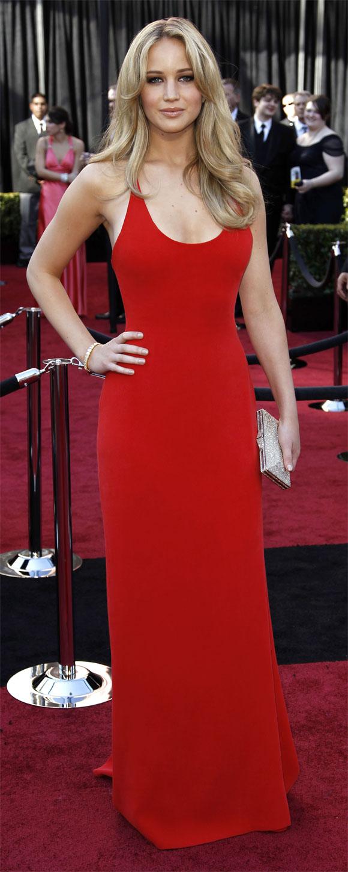 Jennifer Lawrence Oscars 2011