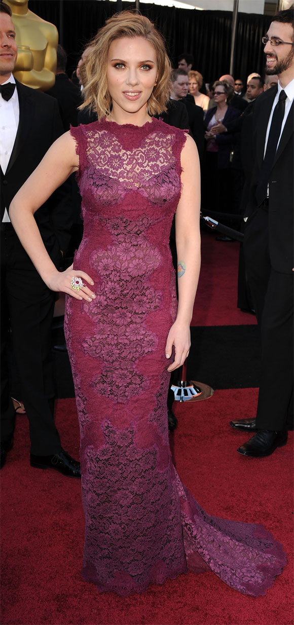 Scarlett Johansson Oscar 2011