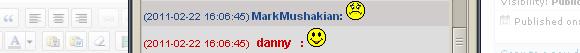 markmushakian and danny kneip im at same time happy sad
