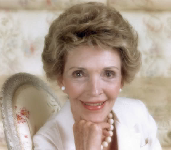 Nancy Reagan portrait just say no to drugs
