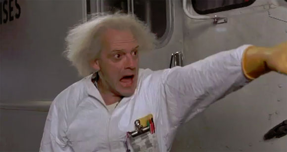 doc emmett brown i don't know how by they found me run for it Marty the libyans
