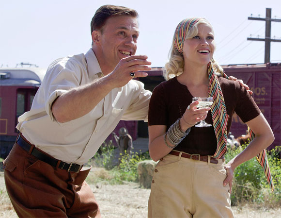 Christoph Waltz and Reese Witherspoon in Water For Elephants
