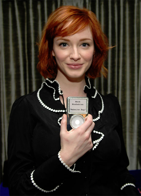 Christina Hendricks ipod