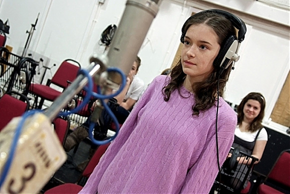 Capital Children's Choir singer in Abbey Road Studio