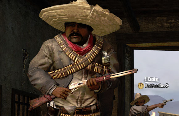 Red Dead Redemption Mexican