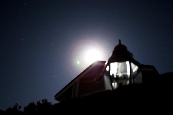 san diego arizona san clemente power outage very bright moon
