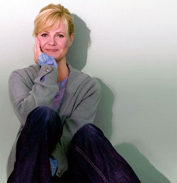 Lovely Lady Bonnie Hunt for her birthday