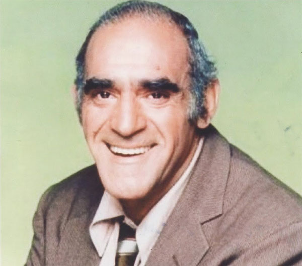 Abe Vigoda smilin away