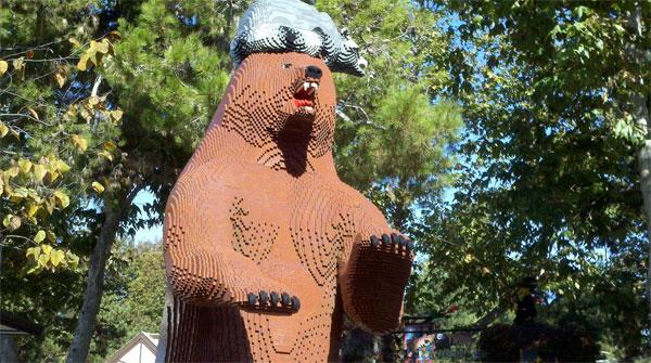Legoland bear