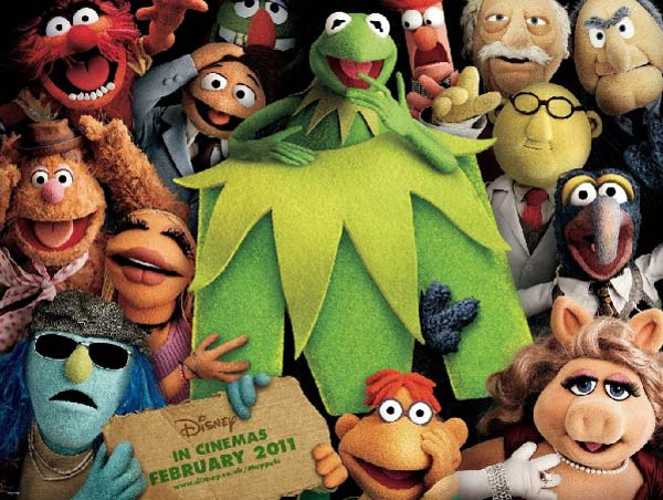 The Muppets 2011 cast