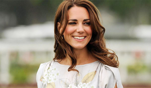 Kate Middleton smilin away