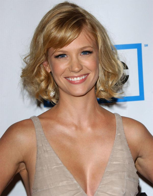 January Jones 34 birthday smile