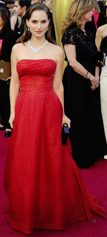 Natalie Portman 2012 84th Academy Awards