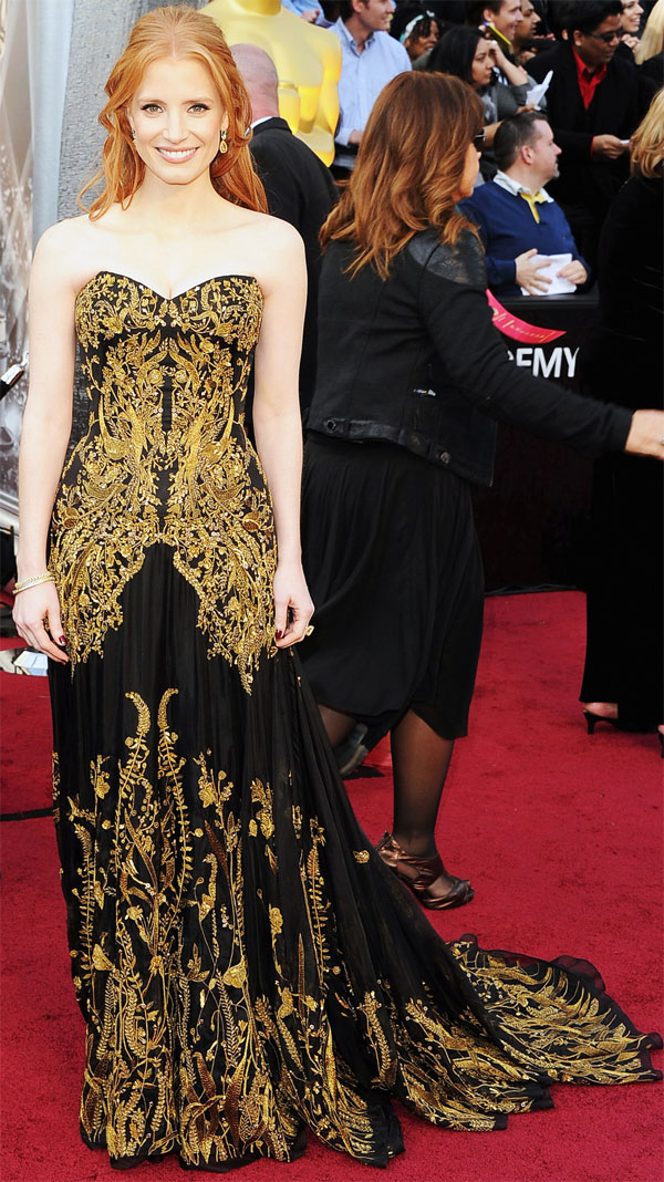 Jessica Chastain 2012 84th Academy Awards