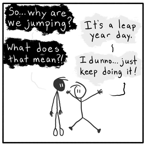 Out of the Box comic 067 Leap To Conclusions